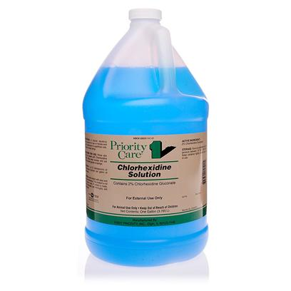 Buy Chlorhexidine Solution 1gallon a Topical Aqueous Cleaning Solution for Use on Horses and Dogs for Application to Superficial Cuts, Abrasions or Insect Stings. [10516]