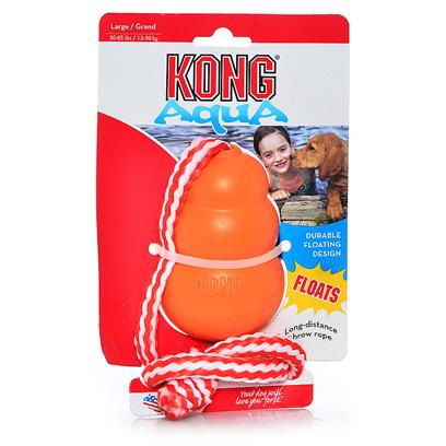 Kong Company Presents Cool Kong with Rope 24.5' Including. Cool Kong with Rope is the Perfect Toy for Active Dogs and their Owners. Some Rambunctious Dogs just Can't Get Enough of Fetch or Splashing in the Water. The Puncture-Resistant Rubber Floats on Water, and is also a Great Chew Toy, Giving your Dog's Teeth and Gums a Healthy Workout. A Sturdy Nylon Rope is Attached for Throwing or Playing Tug-of-War.Cool Kong with Rope is also an Excellent Training Tool for Hunting Dogs and Retrievers in or out of the Water. On Land, the Unpredictable Bounces will Help your Dog Develop Quick Reflexes. Once your Dog Grows to Love this Toy, he will Follow it into the Water to Retrieve it (Even if he Isn't a Water Spaniel)! Both you and your Dog will have Hours of Enjoyment with this Toy, Whether at the Park, the Beach, or Even in your Own Backyard. [10574]