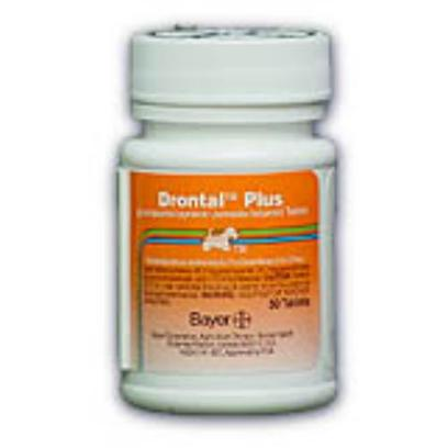 Bayer Presents Drontal Plus 22.7mg Per Tablet. Praziquantel with Pyrantel Pamoate and Febantel is a Broad Spectrum Dewormer Used for the Removal of Tapeworms, Hookworms, Roundworms and Whipworms in Dogs. [10668]