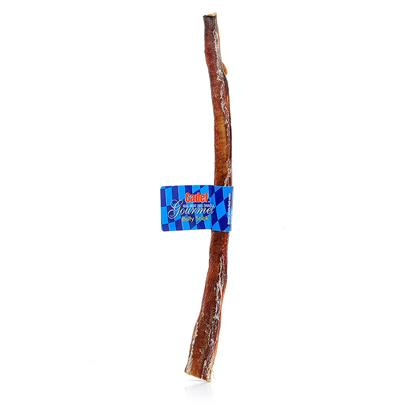 Royal Pet Presents Hickory Bully Sticks 6'. Strong Like a Bull Hickory Bully Sticks have it All. Both an Interactive Toy and Tasty Treat, Hickory Bull Sticks are a Long Lasting, Healthful Delight that Dogs Love. Hickory Bull Sticks Even Promote Oral Hygiene. As Dogs Chew the Stick, they are Cleaning their Teeth and Massaging their Gums. Due to the StickS Rigidness, Each One will Last for Days, if not Weeks, Before they are Completely Consumed. Hickory Bull Sticks Provide a Source of High Quality Protein in the Form of Fully Digestible Beef. They Contain no Preservatives, are Minimally Processed, and are Low in Fat. [10927]