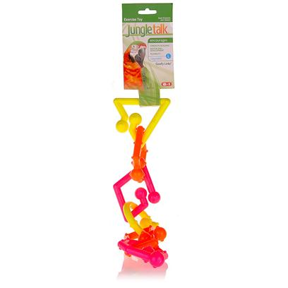 Buy Jungletalk Goofy Links products including Jungletalk Goofy Links, Jungletalk Baby Goofy Links Category:Bird Toys Price: from $2.99