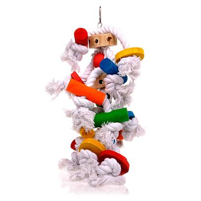 Buy Bird Toy Jungletalk Knotrageous products including Jungletalk Knotrageous Large, Jungletalk Knotrageous Medium, Jungletalk Knotrageous Small Category:Bird Toys Price: from $8.99