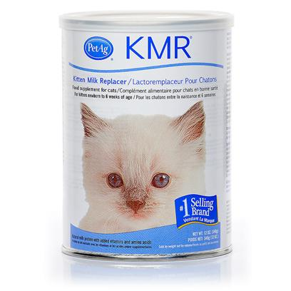 Petag Presents Kmr Milk Replacer Powder-12oz Can. Your Kitten's Tiny Meows are so Sweet they Almost Break your Heart. Make Sure your Little Darlin' is Healthy and Growing with Kmr-the Number One Milk Replacer for Orphaned Kitties or Kittens who Need a Supplement to their Diets. The Remarkable Formula Mimics Mother's Milk Allowing your Kitten (or Other Small Animal) to Get the Nutrition they Need to Grow and Develop into a Thriving Cat. [12133]