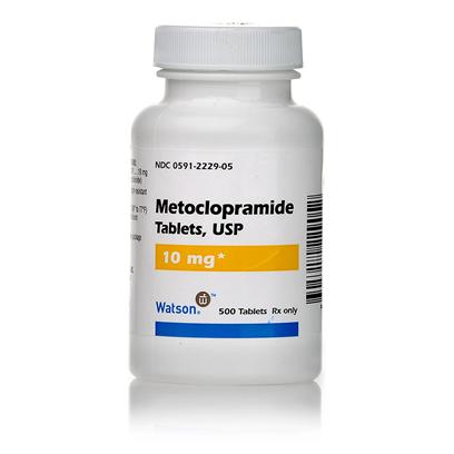 Buy Metoclopramide 10mg Per Tablet Metoclopramide is a Prescription Medication Used to Treat Nausea, Vomiting, and Reflux in Dogs and Cats. It can also Help to Control Vomiting Associated with Chemotherapy, and Stomach and Gastrointestinal Upset Following Surgery. Metoclopramide is Sold Per Tablet, or as an Injectable or Syrup. [11181]