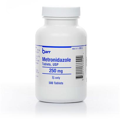 Buy Metronidazole 500mg Per Tablet Metronidazole is an Antimicrobial Antibiotic Used for the Effective Treatment of Many Different Diseases and Conditions in Dogs, Cats, and Horses. This Medication is Geared Toward Animals who are Suffering from Dangerous Infections Such as Tetanus and Liver Disease, as Well as from Causes of Inflammatory Bowel Diseases Like Giardia, Entamoeba, Balantidium, and Trichomonas. It also Fights Oral Infections Like Periodontal Disease. Metronidazole can Even be Applied Externally to Fight Skin Conditions Such as Acne (Particularly in Cats). Metronidazole may also be Used with Other Types of Antibiotics (E.G., Penicillin, some Cephalosporins, and Amino-Glycosides) to Fight off Various Anaerobic Bacteria and Protozoal Infections, as Well as Colitis Brought on by the Prior Use of Other Antibiotic Medications. [11187]