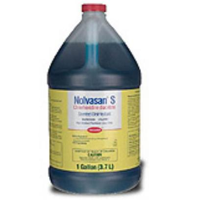 Fort Dodge Presents Nolvasan Solution S (Scented), 1gallon. Nolvasan Solution is a Disinfectant that Every Pet Lover should Have. This Virucidal, Bactericidal, Fungicidal Sanitizing Solution is Useful in the Cleaning, Disinfection and Deodorizing of Pet Supplies and Spaces. [16947]