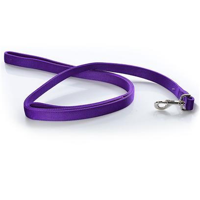 Coastal Presents Nylon Double Leash-1' X 6' Purple 1' 4'. Coastal's Nylon Double Leash is an Ideal Choice for the Safety and Control Needs – Tough and Durable, without Sacrificing Comfort or Stylishness for Both you and your Pet. [11450]