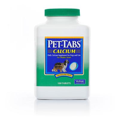 Pet-Tabs + Calcium 180 tablets