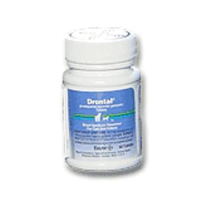 Bayer Presents Drontal Feline Per Pill. Drontal Feline is a Prescription Medication with Ringworm, Tapeworm and Whipworm. It is a Broad Spectrum Dewormer that is Given in a Single Dose as Directed by your Veterinarian. [11891]