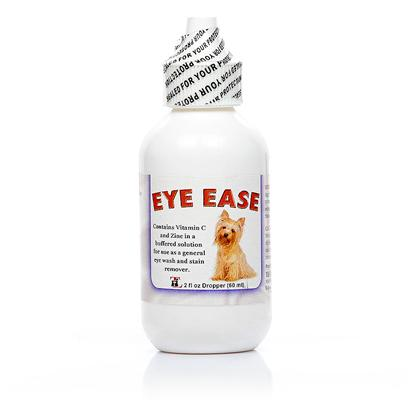 Thomas Labs Presents Eye Ease Homeopathic. Homeopathic Eye Drops. The Natural Formula Made with Vitamin C and Zinc Reduces Inflammation and Discomfort Associated with Eye Problems while also Preventing and Removing Stains. It is Especially Beneficial for Pets with Yellowing Hair Due to Stains. Your Pup will Look his Best at the Dog Part, and You'll be Able to see how Much he Loves You. [11949]