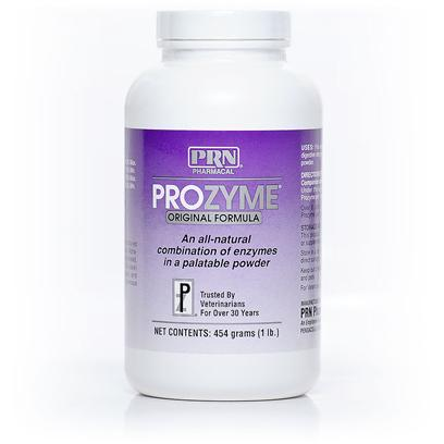 Prn Pharmacal Presents Prozyme Original Formula-Powder 200gm. Your Pets are Part of your Family, and you Want to Keep them Feeling their Best. Prozyme Powder is a Supplement Derived from Plants that is Ideal for Dogs and Cats who are Suffering from Digestive Disorders, Weight Problems, Bloating, Skin Diseases, Allergies, and Dry or Scaly Coat. Prozyme Powder is Easy to Mix with your PetS Food and is Recommended by Many Veterinarians Since it's been Proven to Improve the Absorption of Essential Nutrients. [12238]