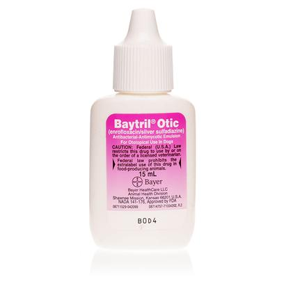 Buy Fungal Infection in Cats Ears products including Baytril Otic 15ml, Tresaderm 15ml Each, Baytril Otic 30ml, Tresaderm 7.5ml Each Category:Ear Care Price: from $15.99