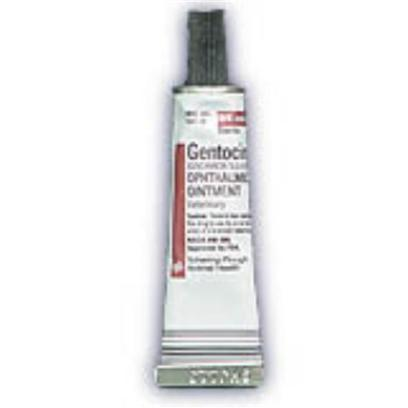Buy Gentak Gentamicin Ophthalmic Ointment 3.5gm Gentamicin Ophthalmic Ointment is a Prescription Sterile Antibiotic Used in the Treatment of Conjunctivitis (Pink Eye) Caused by Susceptible Bacteria. This Topical Ointment is Easy to Use, and it is Safe for Both Dogs and Cats. [12233]