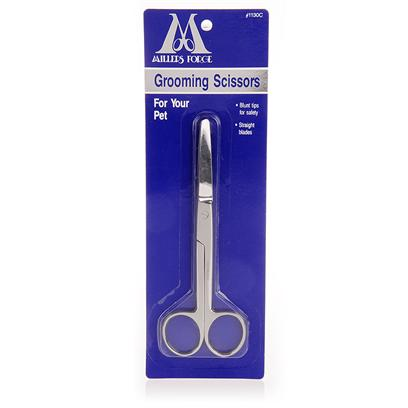 Millers Forge Presents Mf Grooming Scissors Straight Blades. Straight Blade Grooming with Rounded End to Ensure Saftey. [12467]