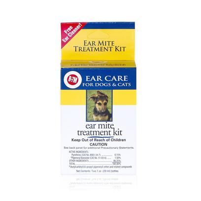 Rich Health Presents R-7m Ear Mite Treatment 1oz Bottle. Ear Mites are One of the Most Common Ear Related Pet Problems, Especially in Cats. R-7m Ear Mite Treatment is Intended to Kill and Flush out Mites from the Infested Ears of Dogs and Cats. (While Dogs are Less Likely than Cats to Contract Ear Mites, it is Entirely Possible, as Mites are Spread through Even Minimal Direct Contact.) if your Pet Exhibits Discomfort, and Begins Excessively Scratching or Rubbing at their Ears, have a Peek Inside. Ears may be Red or Inflamed. If you Notice Large Amounts of a Crumby Brown-Black Substance, itS Likely that Mites are Present. The Base of R-7m Ear Mite Treatment is Pyrethrin, an Organic Compound and Common Insecticide thatS Fatal to Insects. Typical Treatment Involves Dripping 10 Drops into your PetS Ear, Rubbing the Base of the Ears to Distribute the Liquid Within the Ear, and then Allowing your Pet to Shake their Head, which theyLl Most Certainly be Inclined to Do. YouLl then Attempt to Clean the Inner Ear with a Cotton Ball - not a Q-Tip. YouLl Repeat the Process Every Day Till the Cotton Ball Comes out Clean. The Pyrethrin will Work to Kill the Mites and their Eggs, Other Liquids in the Solution will Suffocate them, and youLl do the Final Work of Removing them from your PetS Ear. [12567]