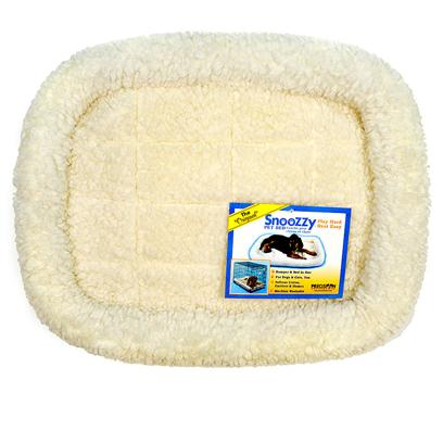 Precision Presents Snoozzy Pet Beds 18'x14' Natural. Snoozzy Pet Beds is the Ultimate Pet Care Product for Keeping Pets Comfortable. Luxurious, Convenient, and Attractive, it may Well be the Perfect Bed for your Pet. [12785]