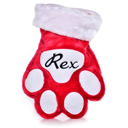 Customized Holiday Paw Stocking