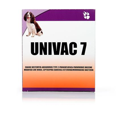 Tradewinds Presents Performer 7 (Formerly Univac 7) 25 Doses. Performer 7 is an Inexpensive at-Home Vaccine that Protects your Dog from Common Viruses. Not only will you Potentially Save Money on Expensive Veterinary Bills, but you will Feel More Comfortable Letting your Dog Play Outside without Having to Worry About them Catching a Virus or Infection. Performer 7 is Administered through Injection. [37332]