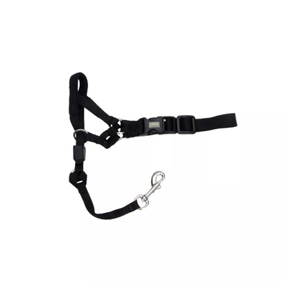 Coastal Presents Coastal Holt Headcollars Size 5 (Large Danes/St Bernard/Bloodhound). Buckle Collars and Traditional Harnesses can Place Pressure on Dogs Throats, which Could Potentially Harm their Tracheas. Recommended by Professionals, the Coastal Holt Headcollars Provides you with Control over your Dog, without Placing any Pressure on their Throats. The Holt has a Padded Nose Band that Prevents it from Hurting your DogS Nose. You can Customize the Holt to Fit your Dog by Means of the Adjustable Camlock, which Secures the Collar to a Size of your Choosing. You can Fit this Walking Collar to your DogS Face, Allowing them to Pant and Drink in Comfort. The Holt is Designed to Provide Gentle Guidance that Stops Dogs from Pulling while Walking. [13759]