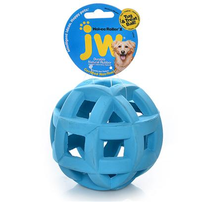 Jw Pet Company Presents Hol-Ee Mol-Ee Extreme Ball. Is a Virtually Indestructible Toy for Heavy-Chewing Dogs. We Love the Unique Shape and all Natural Rubber Construction; it can be Used as a Treat Ball, a Chew Toy, or for Games, all Enjoyable for your Pet. It Comes in Two Sizes (5 or 6 Diameter), is Available in an Assortment of Attractive Colors, and is Easy for your Pet to Grab and Handle. [13843]