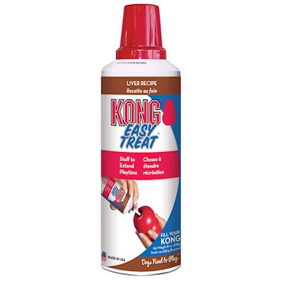 Kong Company Presents Kong Stuff'n Liver Paste 8oz. . Can of Kong Stuff'n Liver Paste Contains Approximately 45 One Tsp. Servings. Kong Stuff N Paste Looks and Works just Like the Regular Canned Cheese and it Comes in an Easy to Use Spray Canister. [13867]