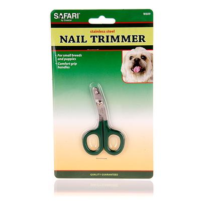 Safari Presents Safari Stainless Steel Nail Clippers Trimmer. Nail Trimming should be a Regular Part of your PetS Grooming. It is Important for your PetS Well Being to Keep their Nails Trimmed. These Nail Clippers are Perfect for Small Dogs, Cats, Birds, and Other Small Animals. Made from Stainless Steel for Easy Cutting and will Remain Sharper Longer. Your Satisfaction is Guaranteed. [14208]