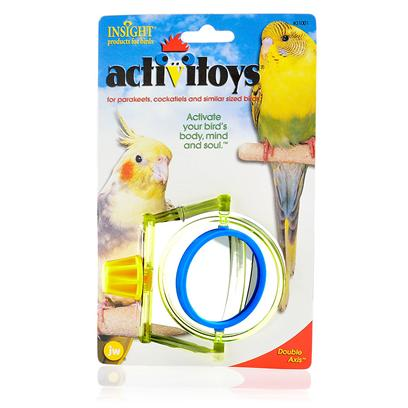 Jw Pet Company Presents Double Axis Bird Toy. Will Keep your Bird Entertained, Stimulated, and Exercised. [14321]