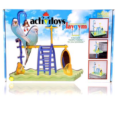Jw Pet Company Presents Insight Play Gym. Designed to Stimulate the Bird's Mind as Well as its Motor Skills and to Keep your Bird Vigorous and Healthy [14336]
