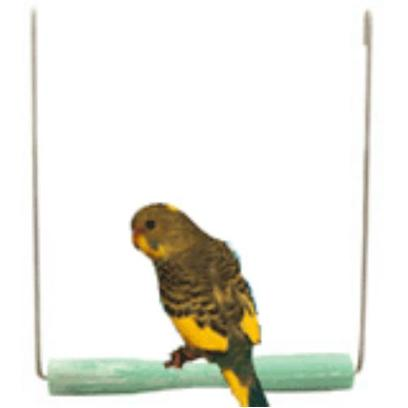 Jw Pet Company Presents Sand Perch Swing. That will Provide your Bird with Both a Place to Perch, Swing, Groom its Beak and Claws, and Exercise. [14348]