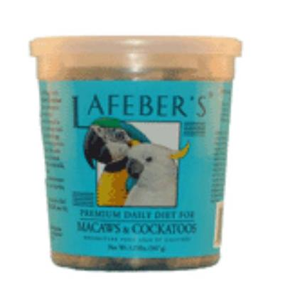 Lafeber Company Presents Lafeber's Macaw and Cockatoo Pellets 1.25lbs. A High Quality Blend of Natural Ingredients Like Ground Corn, Soybean Meal, Oat Groats and Human Grade Whole Egg, and Fortified with Essential Vitamins and Minerals, these Pellets Address your Bird's Nutritional Needs. [14361]