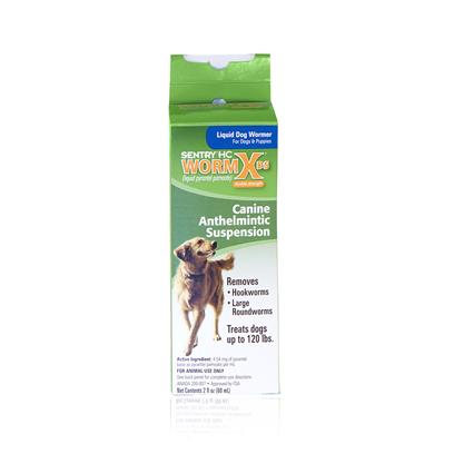 Buy Wormx Ds Liquid Dog Wormer 2oz Wormx Double Strength Dog Wormer is Designed to Prevent the Reinfestation of Intestinal Roundworm and for the Removal of Large Roundworms and Hookworms in Dogs and Puppies. [14681]