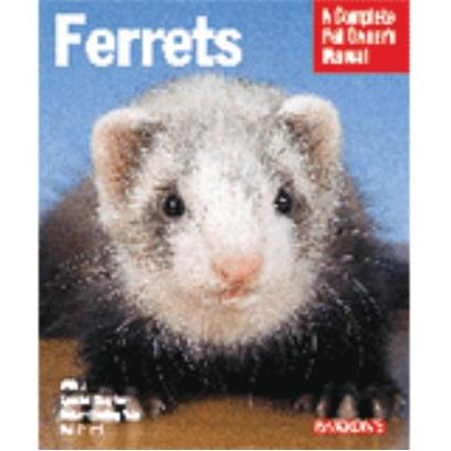 Barrons Presents Barron's Ferret Guide. Ferrets are Playful, Fun-Loving Animals, but Inexperienced Owners Need Detailed Advice on their Care and Keeping. Advice and Instruction Covers Feeding, Housing, Health Care, Training, Grooming, and Much More. Texts Emphasize Pet Care Basics and are Easy for all Readers to Understand. [14737]