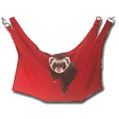 Marshall Presents Polar Fleece Ferret Lounger. Your Ferret will Love Hanging out in this Warm and Comfy Lounger Made from Polar Fleece. Measures 16''w X 22''l and is Larger than Traditional Cage Hammocks. Clips Easily to Most Wire Cages. [14782]