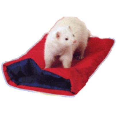 Marshall Presents Ferret Krackle Sack Fleece. Fabric Covered Krackle-Lining Makes a Racket that Drives Ferrets Crazy. Measures 12''w X 20''l. Can also be Used as a Toy Outside of Cages. [14785]