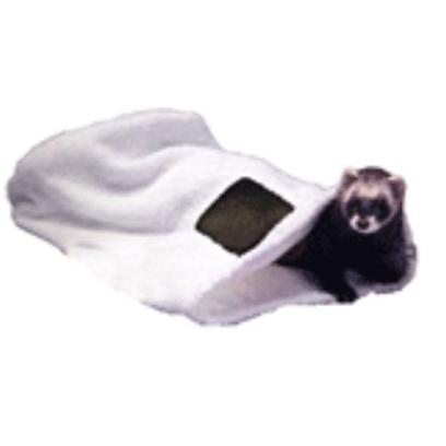 Marshall Presents Ferret Drying Sack. . The Soft Terry Cloth Fabric is Perfect for Comfortable Drying of your Ferret. Vented on the Side for Increased Air Circulation. [14804]