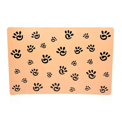 Ethical Presents Spot Designer Pawprint Placemat Placement. The Spot Designer Pawprint Placemat will Protect your Floors, Help your DogS Food Stay Put, and Add a Touch of Style to their Dining Area. Made of High Quality Vinyl, this Placemat will Protect Stainless Steel from Damaging your Floor, or Ceramic Dishes from Being Damaged by your Floor as your Dog Feeds. It is Designed to Keep your DogS Diner or Bowls on the Mat, Preventing them from Sliding on the Floor or Tipping Over. This Saves your DogS Meal, and Saves you from Having to Deal with Cleaning Up After their Meal. [14910]