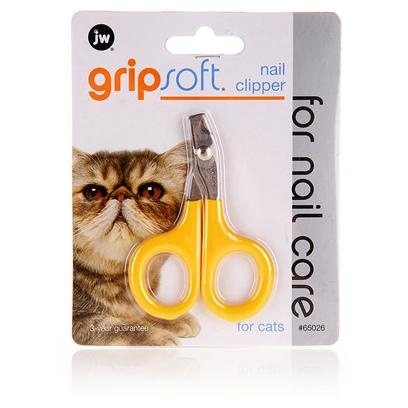 Jw Pet Company Presents Jw Pet Company (Jw) Gripsoft Cat Nail Clipper. Pet Grooming Professionals Simply Cannot do without Jw Gripsoft Cat Nail Clipper. This Unique Pet Grooming Product is Made Specifically for CatS Claws and is Originally Designed to Support Professional Groomers. This Unique Grooming Tool is Specially Designed to be Ergonomically Correct, Using Less Pressure to Manipulate the Tool. The Non-Slip Soft Grip also Ensures that you Get Total Control while Clipping the Nails [14977]