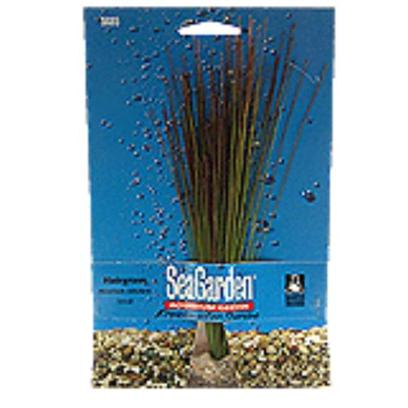 Penn Plax Presents Seagarden Hairgrass Stands 10''. Fill your Aquarium with the Look of Live Plants, without the Work, Maintenance or Expense of Live Plants. [15033]