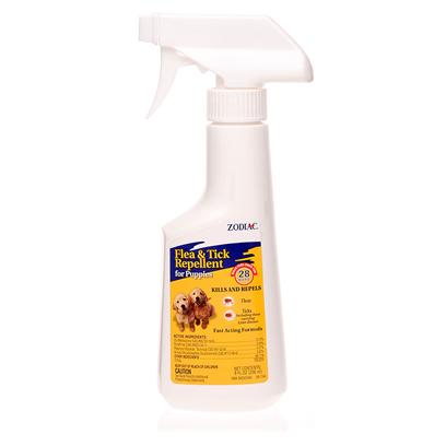 Wellmark Presents Zodiac Flea and Tick Repellent for Puppies 8oz. Zodiac Flea Ang Tick Repellent for Puppies is Strong Enough to be Effective, but Gentle Enough for Use on Puppies. Flea and Tick Protection Specifically Designed for Puppies. Contains an Adulticide which Kills Fleas and Ticks. Contains (S)-Methoprene Insect Growth Regulator (Igr) to Kill Flea Eggs for 28 Days. Quick Relief from Fleas and Ticks [15100]