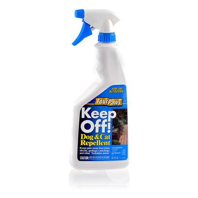 Four Paws Presents Four Paws Keep off Outdoor Liquid Repellent 24oz Pump. Four Paws Keep Off! Outdoor Liquid Repellent was Designed to Repel and Deter Pets and Wildlife from Plants, Shrubs, Flowers Etc. The Formulation Uses Active Ingredient Denatonium Saccharide Thymol, which Tastes Absolutely Awful! The Process by which some Wildlife Earns Avoidance is through Tasting. Your Pets will Learn Quickly to Avoid your Garden. [15498]