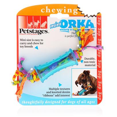 Petstages Presents Petstages Orka Mini Chew. For your Aggressive Chewer Toy Breed of Dog. Your Little One is Sure to Love this Power-Packed Toy. [15775]