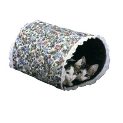 Lazy Pet Presents Lazy Pet Cat Racket Tunnel 12' X 15'. The Racket Tunnel Features a Layer of Plastic Film Sandwiched Between Cotton Print and Duck Fabric then Sewn into a Unique Collapsible Tunnel your Pets will Love to Explore. The Tunnel Makes a Loud, Crinkly Sound when Touched to Add to the Fun. [15848]