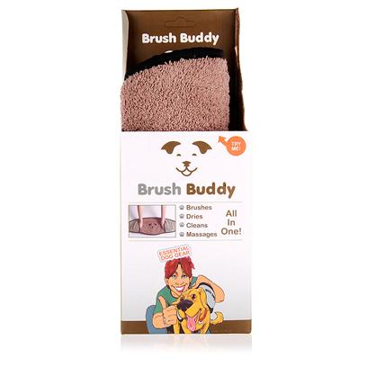 Rough & Tumble Presents Brush Buddy. Is an all-in-One Grooming Tool that Cleans, Brushes, Massages and Dries your Pooch! They'll Love it and so will You. [16992]