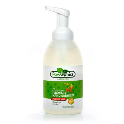 Pawganics Presents Pawganics Alcohol Free Foaming Hand Sanitizer. Pawganics Alcohol Free Foaming Hand Sanitizer Effectively Kills 99.9% of Germs on Hands without the Use of Harsh Alcohol, which can be Dangerous to Both Pets and their Owners. Perfect for Walks, in the Car and all Around the House.- Alcohol Free - Kills 99.9 % of Germs- Fragrance Free - 2x the Use of Gelsavailable in 550ml Foaming Pump Bottlenatural Tangerine Scent [17420]