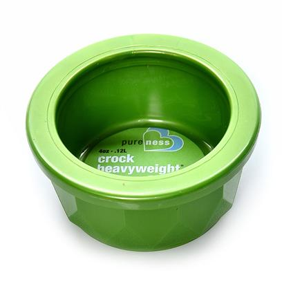 Buy Van Ness Crock Heavyweight Pet Dish Cs1-Midget Dishwasher Safe, Assorted Colors 3 5/8&quot; Diameter X 1 3/4&quot; Hgt., Capacity 4 Oz. [17445]