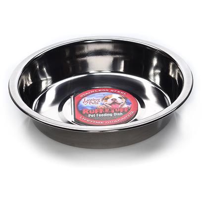 Loving Pets Presents Stainless Stell Kitty Cup Lv Ss 6'. These is an Great Dish to Use with a Litter of Kittens and Since it is Stainless Steel it is Easily Cleaned and Dishwasher Safe. [17481]