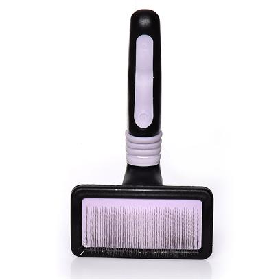Four Paws Presents Ultimate Touch Cat Slicker Brush Fp. Our Gentle Ultimate Touch Slicker Wire Brush is Specially Designed for Cats to Eliminate all Unwanted Hair with a Gentle Touch. [17485]