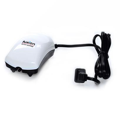Jw Pet Company Presents Jw Pet Company (Jw) Fusion Air Pump Model 300. The Fusion Air Pump 200 has a Patented Baffle System, which is a Series of Chambers that are Interlinked by Small Openings. These Chambers not only Absorb the Sound, Making the Fusion Air Pumps Amazingly Quiet, they also Create Pressure as the Air is Pushed through Each Small Opening, Producing a Powerful Air Flow! Inner Qty N/a Case Qty 48 [17581]