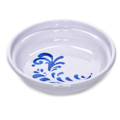 Petmate Presents Designer Cat Elegance 1.3cup Bowl Bl/Wh Pm. Designer Bowl. Size 1.3 Cups Cat Dish. Heavyweight Cat Dish. White with Elegance Pattern. Color White and Blue. Dimension 5.3 X 5.3' X 1.3' Cat Dish Durable Plastic, Fashionable with Today S Trends. Non-Slip & no Scuff Base. Dishwasher Safe - Top Rack.' [17740]