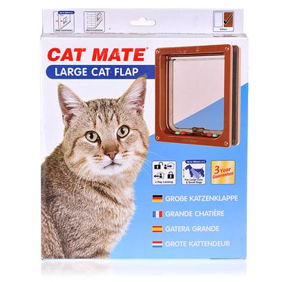 Buy Cat Mate Large Flap Model 221-Large/Brown these Cat Mate Doors are the Perfect Accessory for any Feline Friendly Home! Your Best Friend will be Able to Come and Go as they Please. And if you Decide that they should Stay Inside and Snuggle, the Door is Easily Lockable so your Cat can Stay Safe Inside. The Door Features a Polymer Flap and Tamper Proof Side Lock. The Transparent Flap Allows Cats to Stay Safe and Warm in Side, but Still Get Keep an Eye on the Outside World Around Them! The Flap is Brush Sealed and Uses a Magnetic Closure, Ensuring a Weatherproof Seal and Virtual Silence as your Cat Comes and Goes and Enjoys the Best of Both Worlds! [17796]
